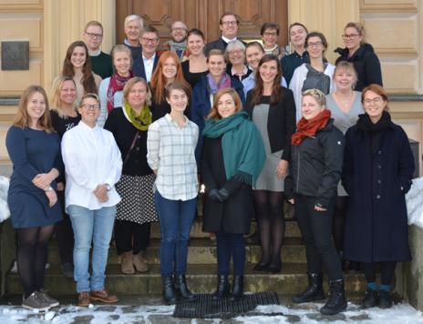 Deltagare, arrangörer och jury KSLA:s caseutmaning 2016..