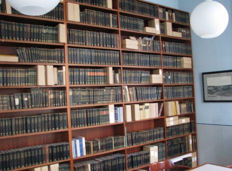 von Horns rum används i första hand av Hushållningssällskapet – och hyser en stor samling HS-skrifter.
