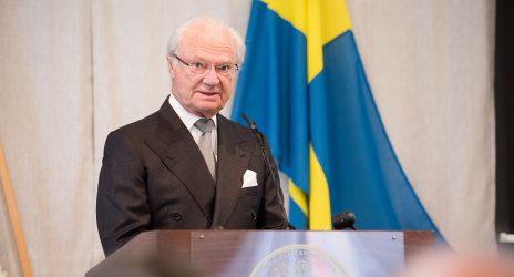 Carl XVI Gustaf öppnade Tandem Forest Values startseminarium.