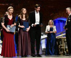 Fanny Blom, Erika Alm & Nils Ewald